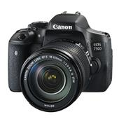 Canon EOS 750D Digital SLR + 18-135mm IS STM Lens