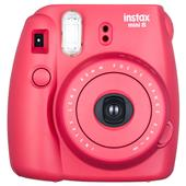 Fujifilm Instax Mini 8 Instant Camera in Raspberry + 10 shots