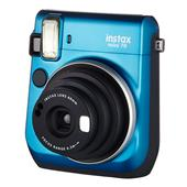 Fujifilm Instax Mini 70 Instant Camera in Blue + 10 Shots