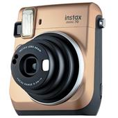 Fujifilm Instax Mini 70 Instant Camera in Gold +10 Shots