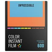 Impossible Project Polaroid Colour Instant Film with Colour Frame