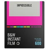Impossible Project Polaroid Black and White Instant Film with Colour Frames