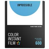 Impossible Project Polaroid Colour Instant Film with Round Frame