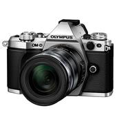 Olympus OM-D E-M5 Mark II Compact System Camera in Silver + 12-50mm Lens