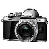 Olympus OM-D E-M10 Mark II Compact System Camera in Silver + 14-42mm EZ Lens