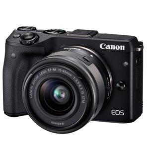 Buy Canon EOS M3 Compact System Camera + 15-45mm IS STM Lens from Jessops