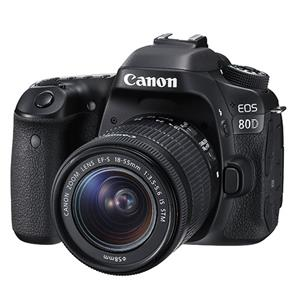 Buy Canon EOS 80D Digital SLR + EF-S 18-55mm f/3.5-5.6 IS STM Lens from Jessops
