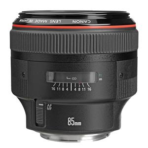 Buy Canon EF 85mm f/1.2L II USM Lens from Jessops