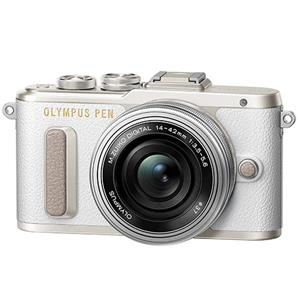 Buy Olympus PEN E-PL8 Mirrorless Camera in White + 14-42mm EZ Lens from Jessops