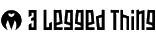 3 Legged Thing logo