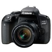 Canon EOS 800D Digital SLR with 18-55mm STM Lens