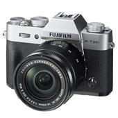 Fujifilm X-T20 Mirrorless Camera in Silver with 16-50mm Lens