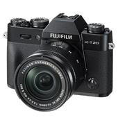 Fujifilm X-T20 Mirrorless Camera in Black with 16-50mm Lens