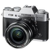 Fujifilm X-T20 Mirrorless Camera in Silver with 18-55mm Lens