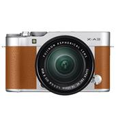 Fujifilm X-A3 Mirrorless Camera In Camel Brown with XC16-50mm