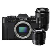Fujifilm X-T20 Mirrorless Camera Body in Black with XC 16-50mm & 50-230mm Lens