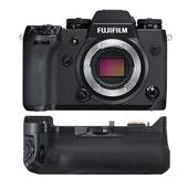 Fujifilm X-H1 Mirrorless Camera Body with VPB-XH1 Battery Grip and 2x Extra Batteries