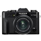 Fujifilm X-T20 Mirrorless Camera in Black with XC 15-45mm f/3.5-5.6 OIS PZ Lens