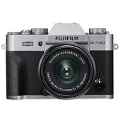 Fujifilm X-T20 Mirrorless Camera in Silver with XC 15-45mm f/3.5-5.6 OIS PZ Lens