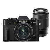 Fujifilm X-T20 Mirrorless Camera in Black with XC15-45mm Lens and XC50-230mm f/4.5-6.7 OIS II Lens
