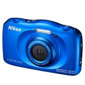 Nikon Coolpix W100 Digital Camera in Blue