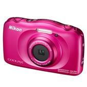 Nikon Coolpix W100 Digital Camera in Pink