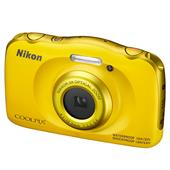 Nikon Coolpix W100 Digital Camera in Yellow