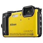 Nikon Coolpix W300 Camera in Yellow