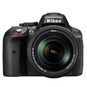 Nikon D5300 Digital SLR in Black with 18-140mm f/3.5-5.6 G VR Lens