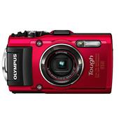 Olympus Tough TG-4 Digital Camera in Red