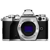 Olympus OM-D E-M5 Mark II Compact System Camera Body in Silver
