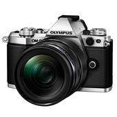 Olympus OM-D E-M5 Mark II Compact System Camera in Silver with 12-40mm Lens