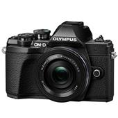 Olympus OM-D E-M10 Mark III Mirrorless Camera in Black with 14-42mm EZ Lens