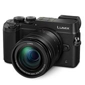 Panasonic Lumix DMC-GX8 Compact System Camera in Black + 12-60mm Lens