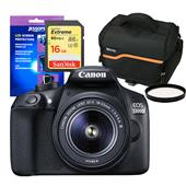 Canon EOS 1300D Digital SLR with EF-S 18-55mm DC III Lens and Accessories Bundle