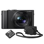 Panasonic Lumix DMC-LX15 Camera in Black + Accessory Kit