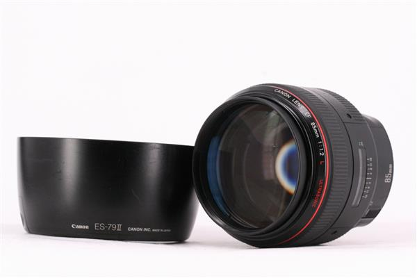 Canon EF 85mm f1.2L Lens