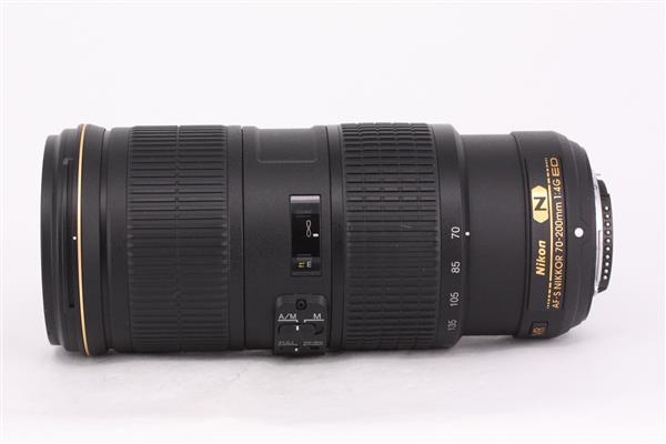 Nikon AF-S 70-200mm f/4G ED VR Lens