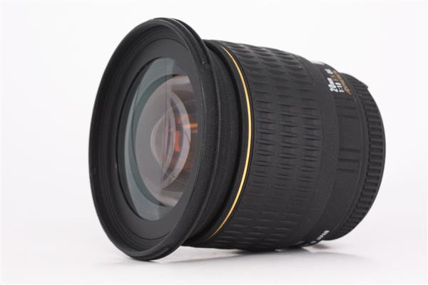 Sigma 20mm f1.8 EX DG Asp RF Nikon AF
