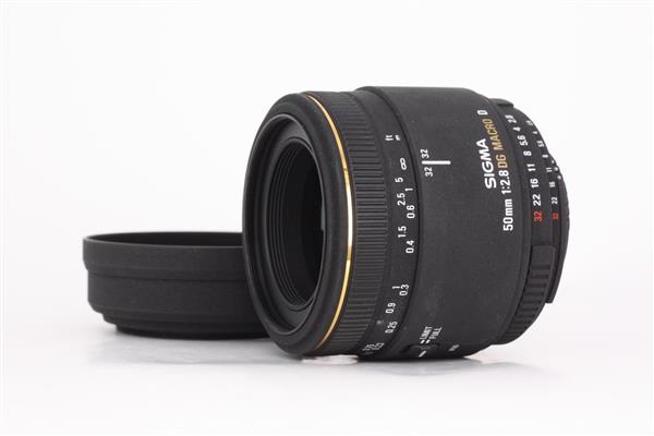 Sigma 50mm f/2.8 EX DG Macro Lens (Nikon AFD)