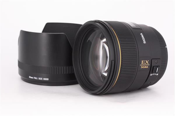 Sigma 85mm f1.4 EX DG Lens for Canon EF