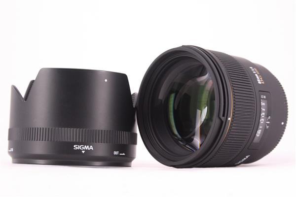 Sigma 85mm f1.4 EX DG Lens for Nikon AF