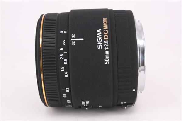 Sigma 50mm f/2.8 EX DG Macro (Canon AF)
