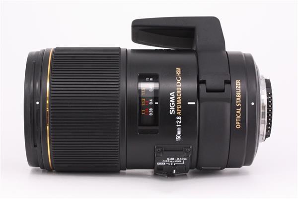 Sigma 150mm f2.8 EX OS DG Macro Lens - Nikon AF