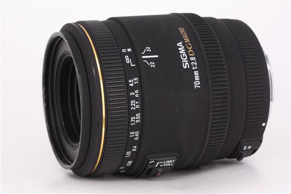 Sigma 70mm f2.8.EX DG Macro for Canon EF