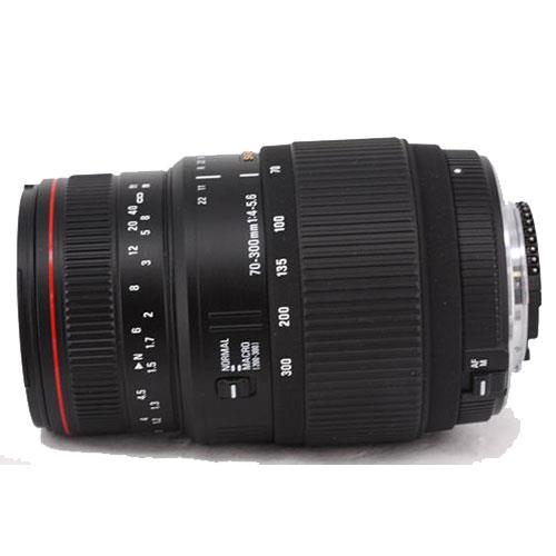Sigma 70-300mm f/4-5.6 APO DG Macro (Nikon Fit - Non-Motorised)