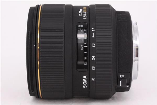 Sigma 17-35mm f/2.8-4 EX DG HSM (Canon AF)