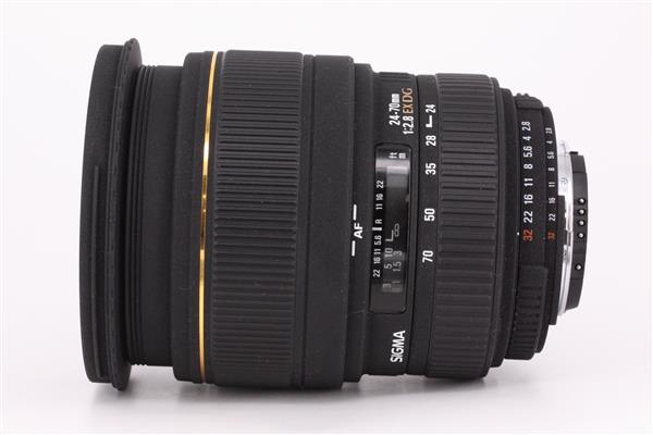 Sigma 24-70mm f/2.8 EX DG Macro (Nikon AF)