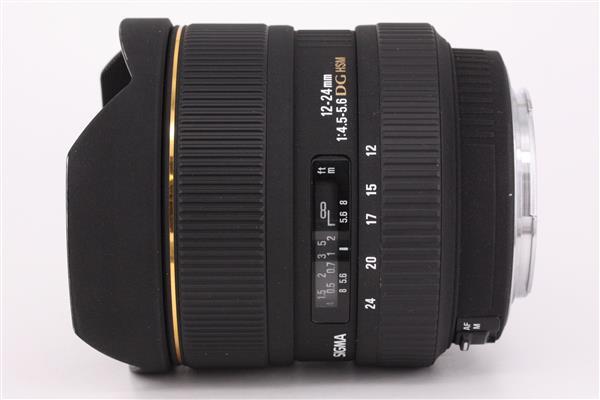 Sigma 12-24mm f/4.5-5.6 EX DG HSM Aspherical (Canon AF)