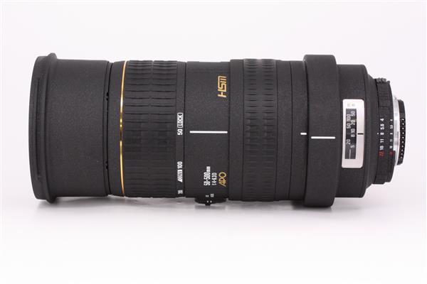 Sigma 50-500mm f/4-6.3 EX APO DG HSM (Nikon Fit)